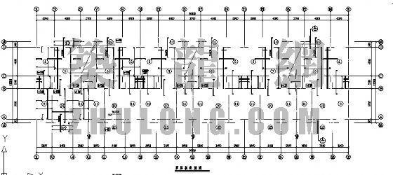 预制L形墙板住宅结构图
