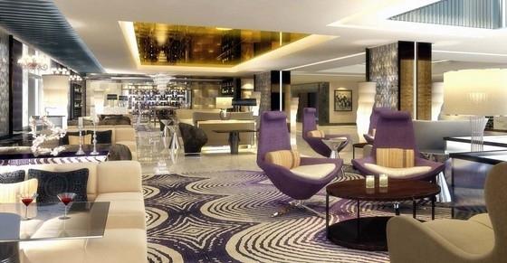 [北京]海外独资豪华五星级大饭店室内设计方案图