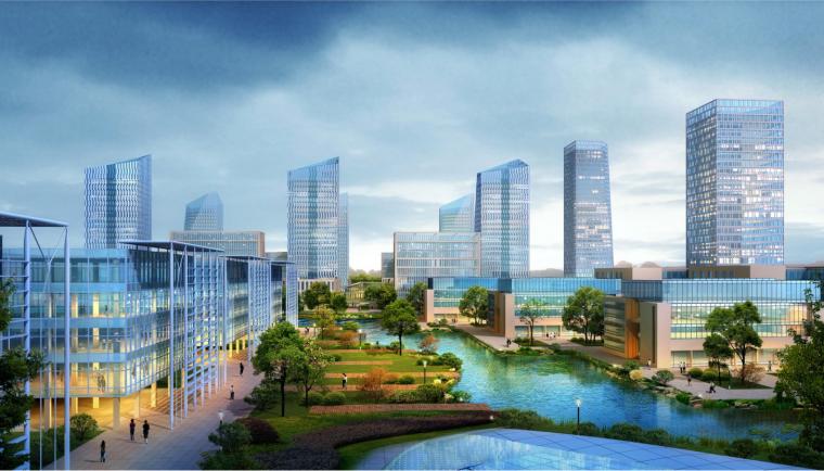 [北京]聯想產業園概念性規劃設計方案文本(商務,人文)