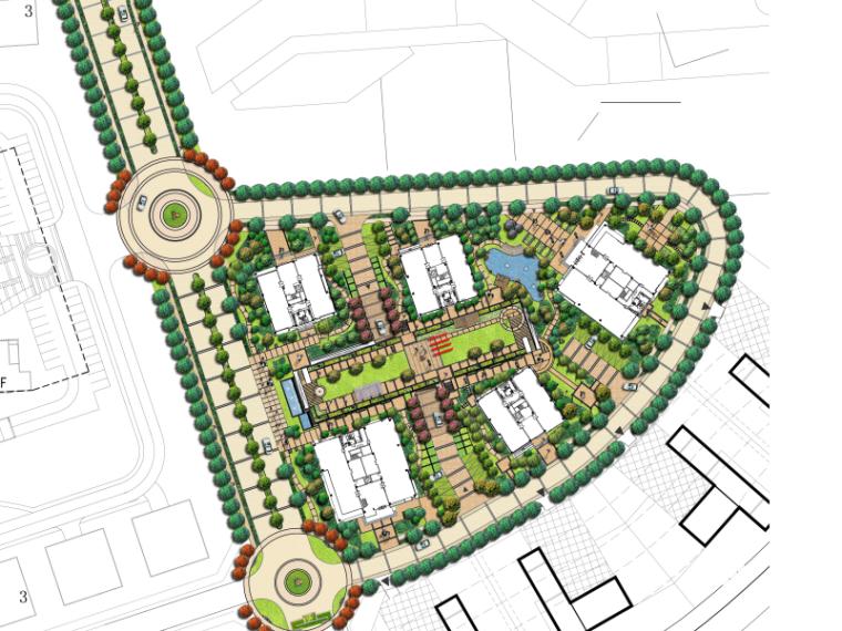 VIVO总部设计方案文本资料下载-[上海]总部湾景观环境设计文本(PPT+47页)