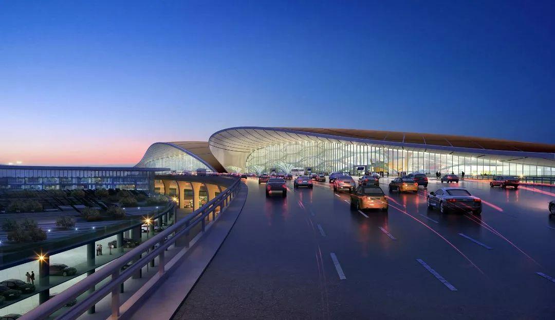 """中国最""""魔幻""""的北京大兴国际机场试飞了!黑科技满满…_37"""