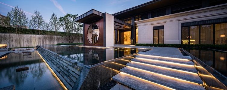 北京阳光城京兆府新中式住宅景观-1 (29)