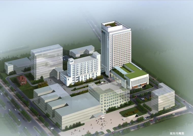 [江苏]某人民医院病房大楼规划设计文本(CAD+SU+文本)