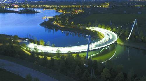BIM技术托起迪士尼星愿公园双桥