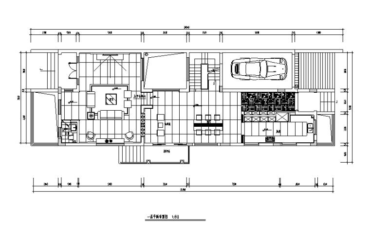 复式现代简约样板房设计施工图(附效果图)