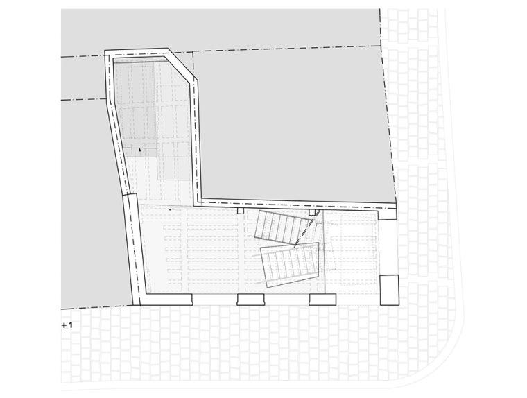 比利时一室小型酒店建筑平面图 (15)