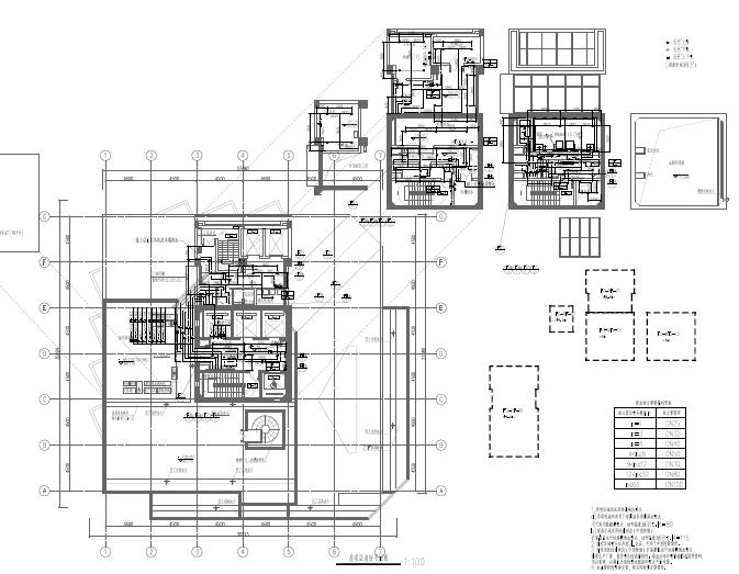 上海24层建筑给排水设计图_1