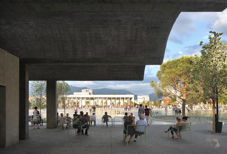 阿尔巴尼亚Skanderbeg广场改造-6