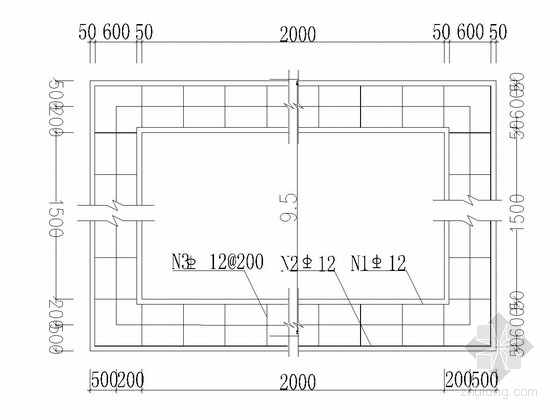 住宅小区边坡治理设计施工图(格构锚杆 抗滑桩)