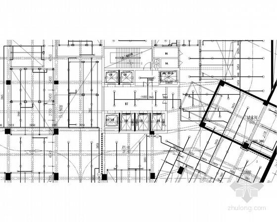 医院建筑群施工图设计资料下载-[广东]知名高层医院建筑群给排水消防施工图(系统全)