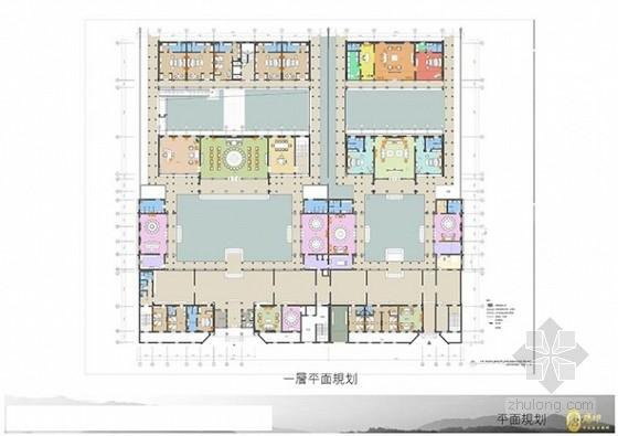 [廊坊]唐印中式风格四合院室内概念方案