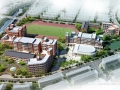 [上海]园林式中学校园改建规划设计方案文本