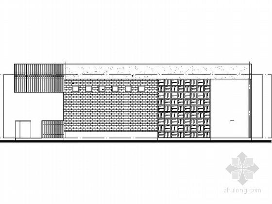 Isemachi公共厕所资料下载-[四川]市区中心公园公共厕所设计施工图(多种方案)