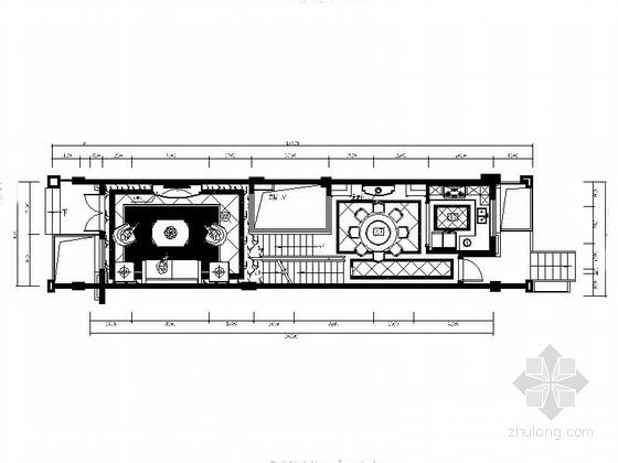 [福建]豪华欧式三层别墅室内装修设计图(含效果)