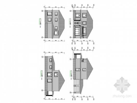 东北地区二层砌体别墅结构施工图(含建施)