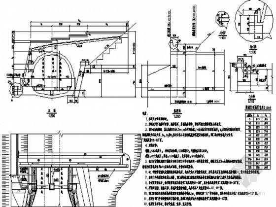 知名大院设计铁路双线隧道各种洞门施工图48张(非常全面)