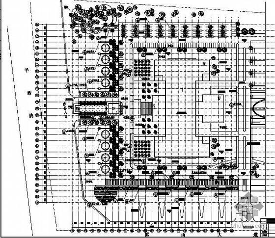 四川科技园一期景观工程全套施工图