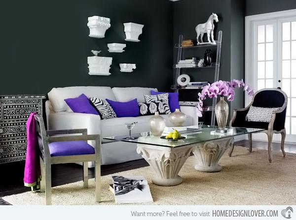 20个时尚的客厅装修设计案例_18