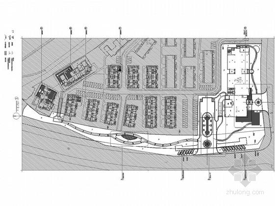 [河南]欧式风格居住区景观规划设计施工图