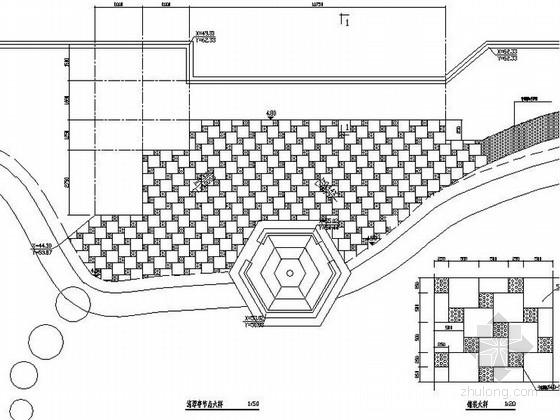 某地环城河公园综合整合景观设计施工图