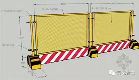 建筑工程基坑工程安全生产标准化做法三维图展示