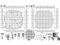 [浙江]地上二层钢网壳屋盖结构办公楼结构施工图(2015年06月出图)
