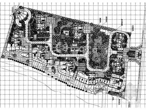 [浙江]绍兴高档居住区景观施工图(CAD图纸151张)