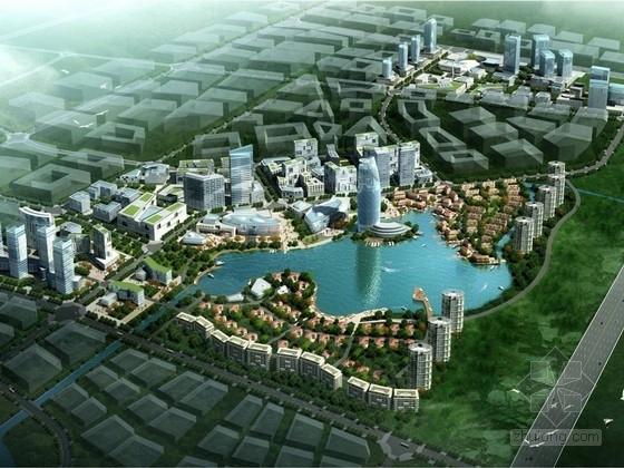 [四川]现代风格滨水城市概念性规划方案文本