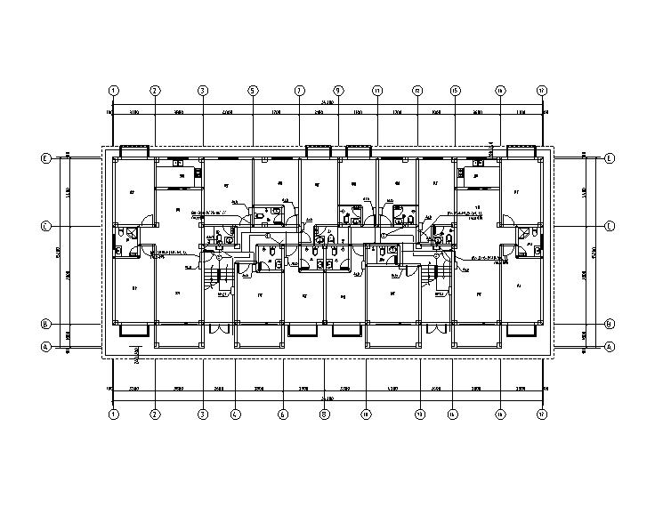 江西学校5层宿舍楼电气施工图(图审回复+综合楼全套看下面关联资料)