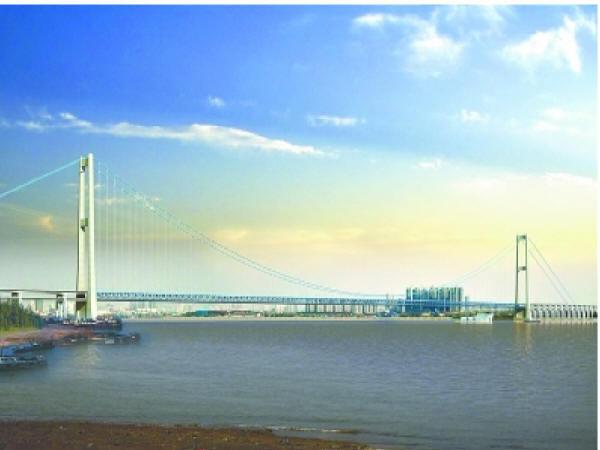 12.3万吨!杨泗港长江大桥世界超大沉井成功下沉到位