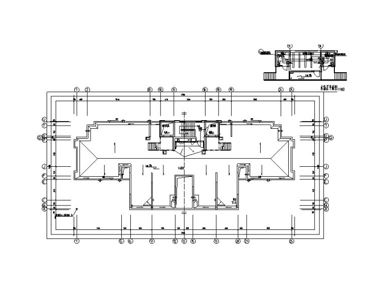 上海大型十八层商品房项目电气施工图(甲级设计院)