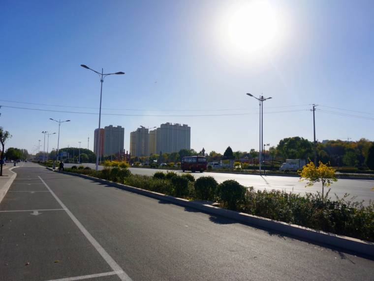 重庆路面工程施工图预算(含完整图纸、计算书)