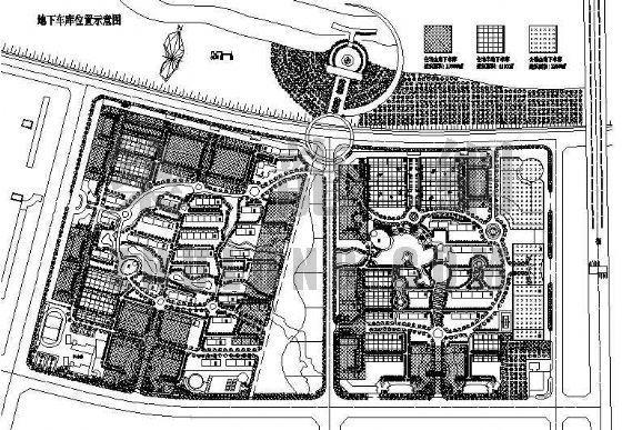 某生态小区规划设计资料下载-某生态小区规划总平面