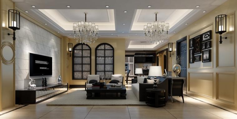 双流龙樾湾装修公司:客厅铺瓷砖好还是地板好?
