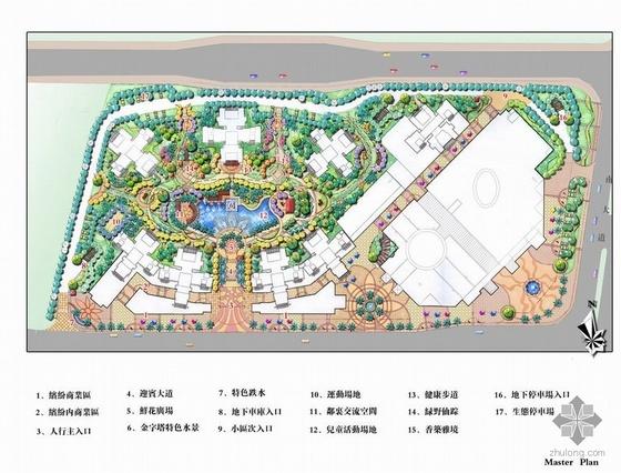 重庆地中海风情居住区景观方案设计文本