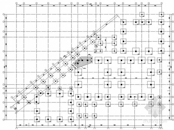三层重点大学阶梯教室结构施工图