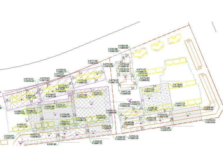 强夯法地基处理施工平面图