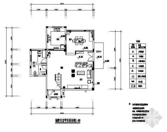 一套很不错的三层小别墅设计
