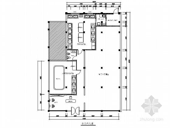 现代风格儿童游泳馆室内设计装修图