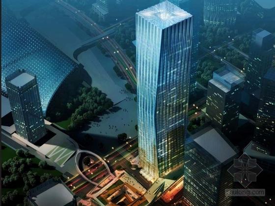 [深圳]超高层现代风格商业综合体设计方案文本(近百张方案图)