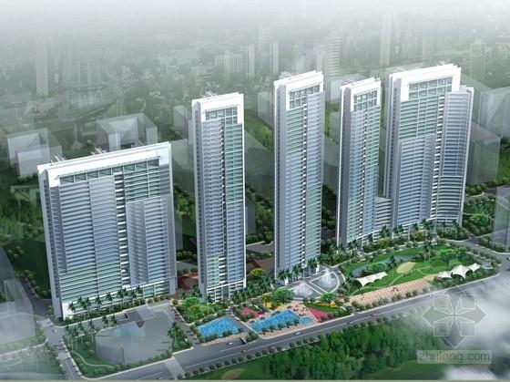 [深圳]超高层现代风格住宅区规划设计方案文本