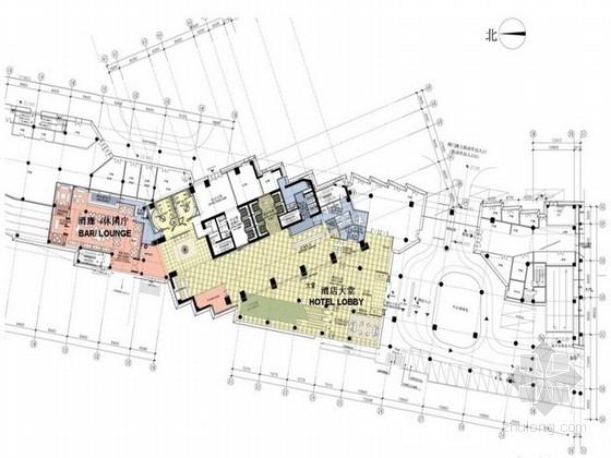 [江苏]五星级国际高层大酒店室内装修设计方案