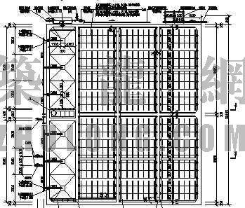 400吨/天接触氧化池图纸