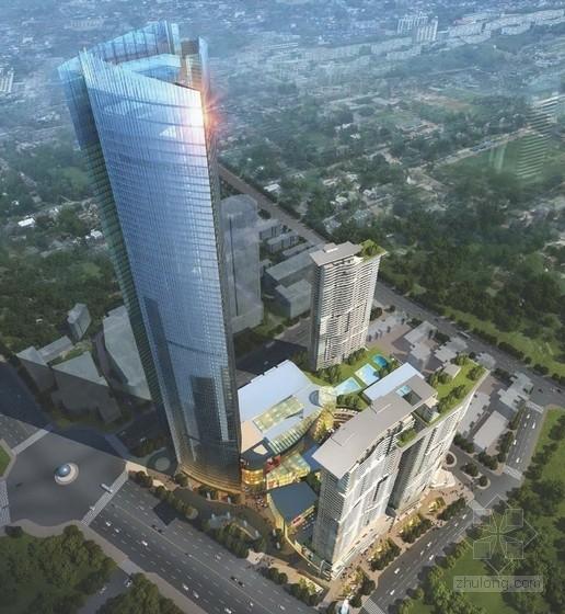 [江苏]现代风格商业区规划及单体设计方案文本