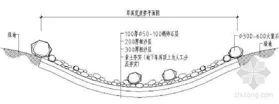 旱溪做法详图