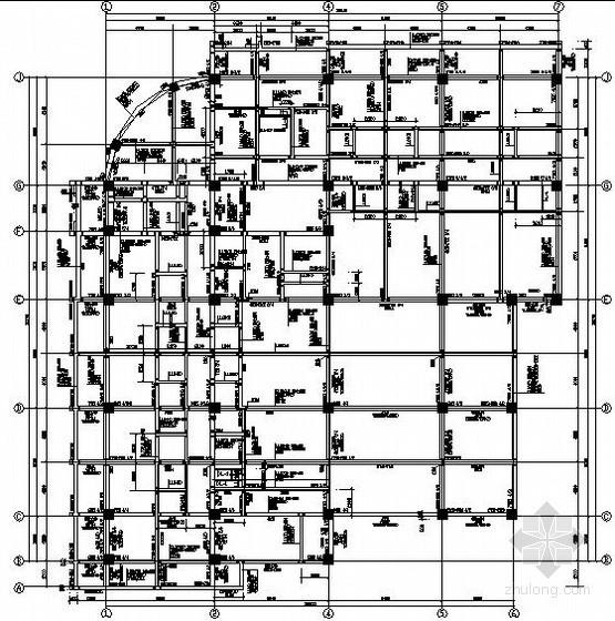 地下一层地上八层框架综合楼结构施工图