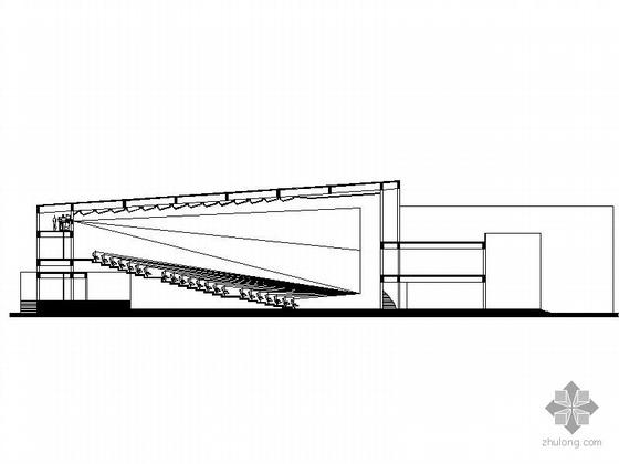 电影院建筑设计(含效果图和素模)