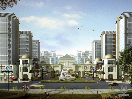[唐山]某二期住宅区设计方案(含效果图及户型平面图)