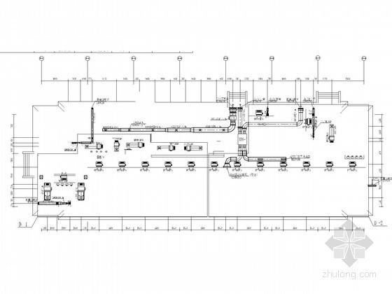 [浙江]多层物流配送中心空调通风及防排烟系统设计施工图