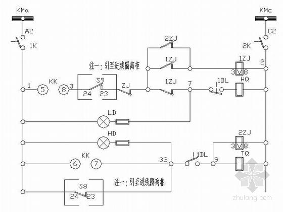 金属制品变电室电气设计-3